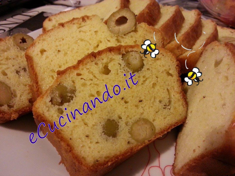 Cake Au Olives Et Boursin