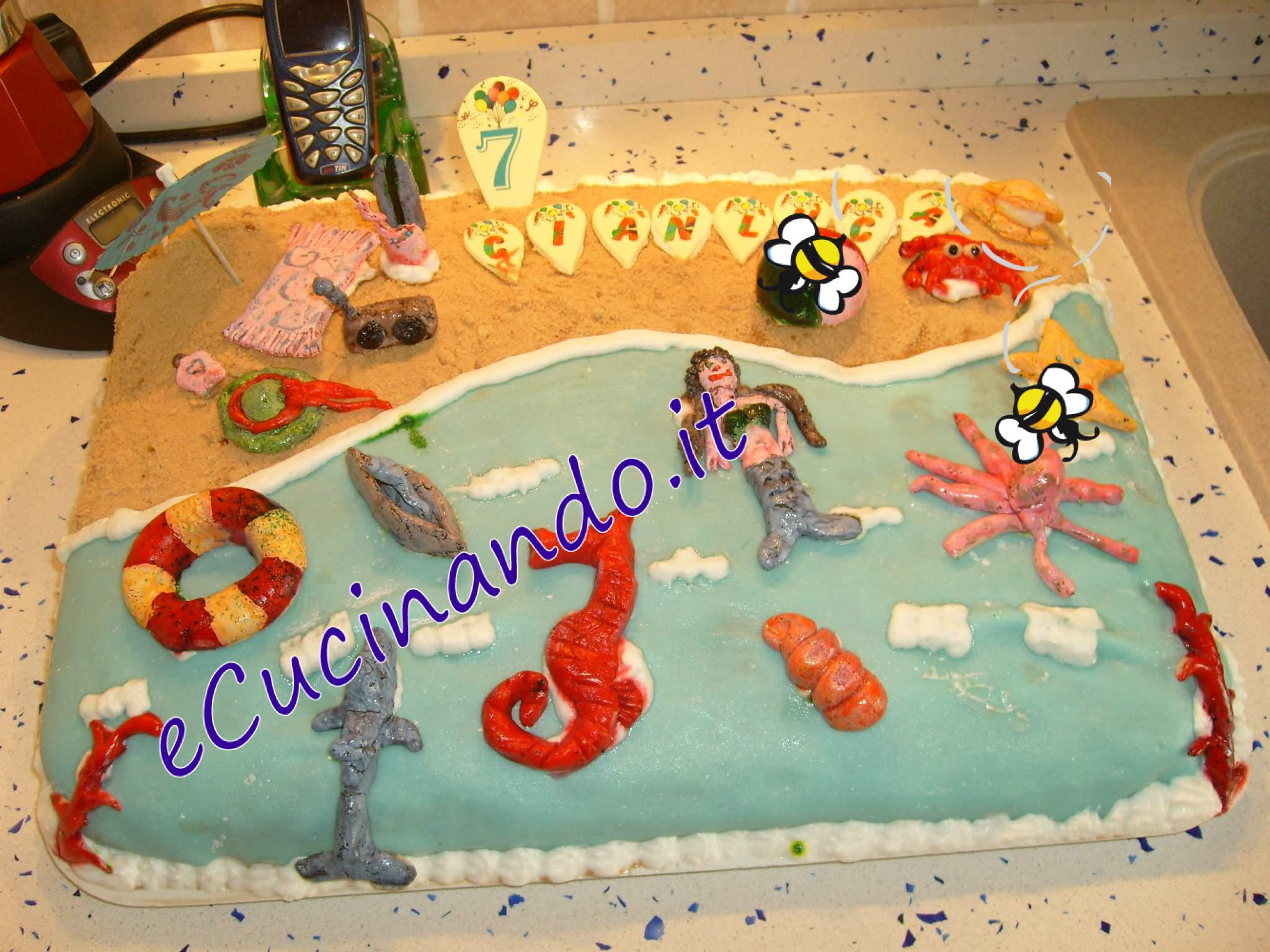 Torta Nuziale Tema Mare Arepad Us Pictures to pin on Pinterest