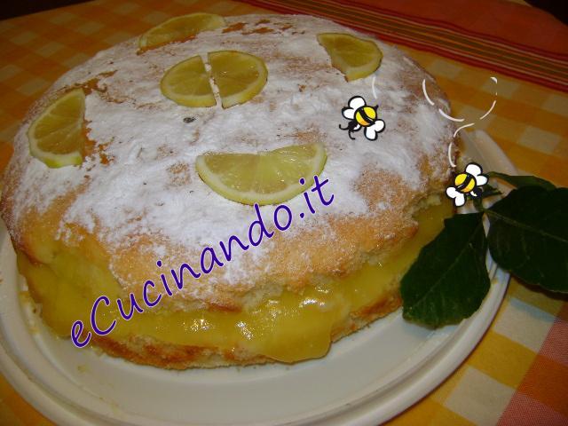 Bimby Torta Al Limone Farcita Con Crema Allacqua Ecucinandoit