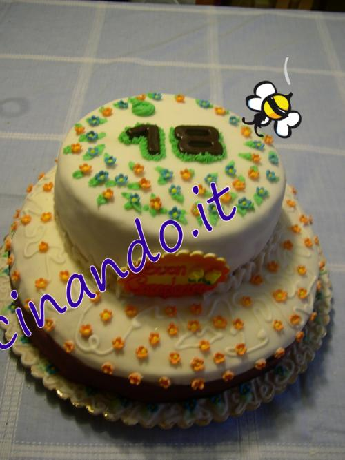 Torta a due piani for Cianografie a due piani