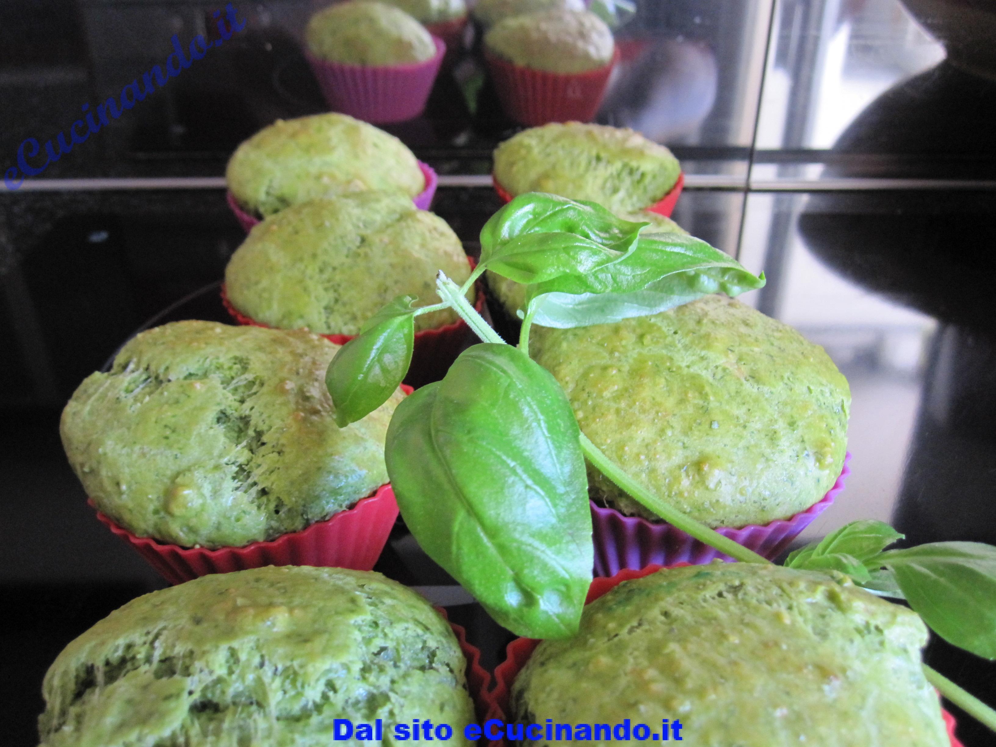 Muffins-au-basilic