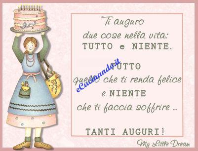 Ecucinando It Tantissimi Auguri Di Buon Compleanno Anna