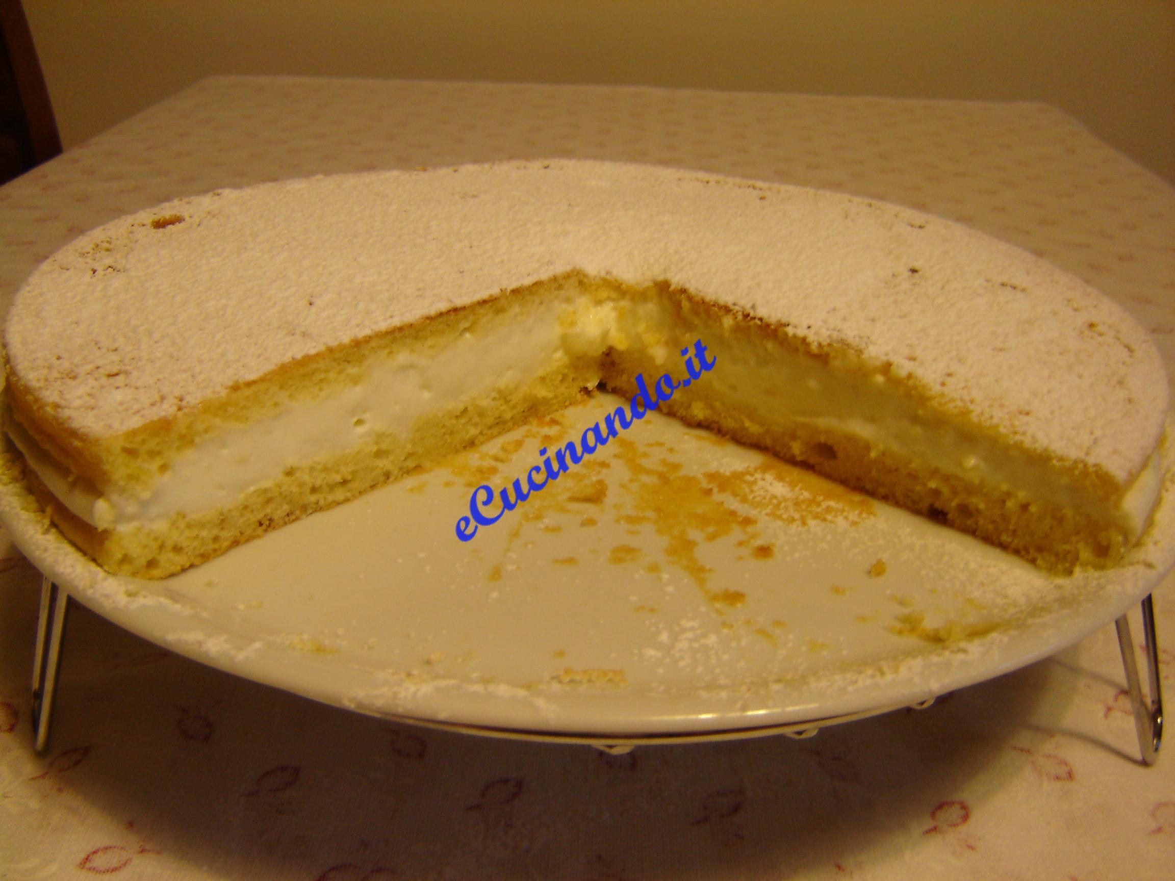 Ricetta torta paradiso con 4 uova