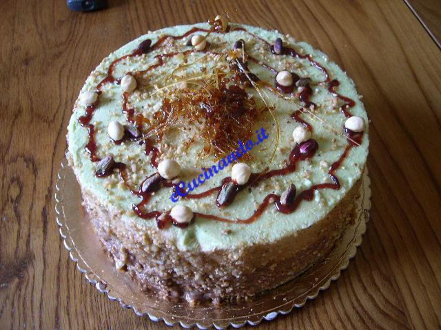 Torta gelato fili di zucchero for Ricette di torte gelato